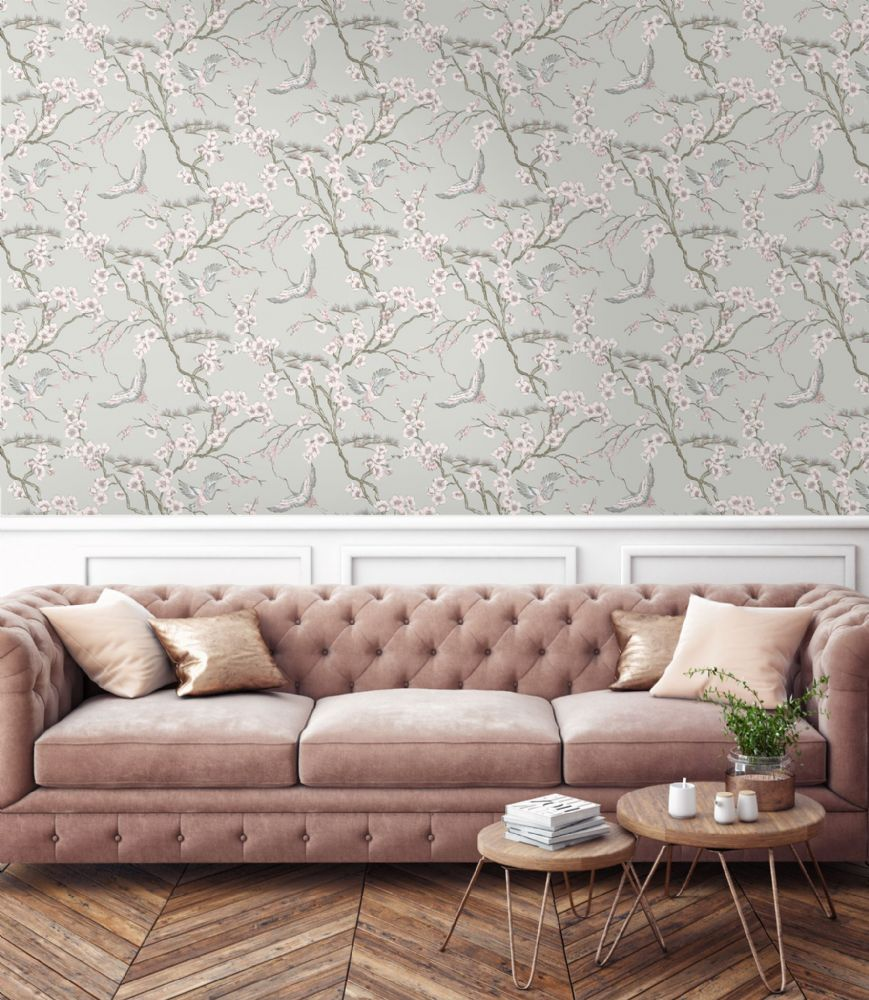 Graham and Brown Japan Pink 105985 Wallpaper PB